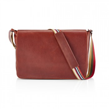 Daines & Hathaway Mail Bag - Finsbury Caramelo