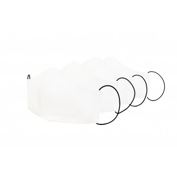 White Cotton Face Mask x 4 Pack